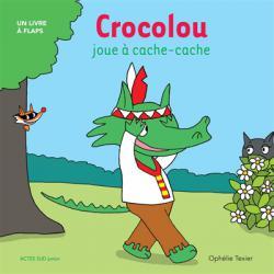 Crocolou joue a cahe-cache